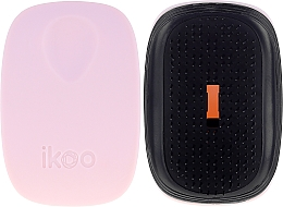 Fragrances, Perfumes, Cosmetics Hair Brush - Ikoo Pocket Black Cotton Candy