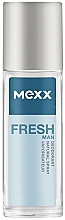 Fragrances, Perfumes, Cosmetics Mexx Fresh Man - Deodorant (glass bottle)