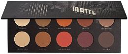 Fragrances, Perfumes, Cosmetics Eyeshadow Palette - Zoeva Matte Palette