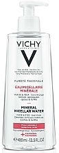 Fragrances, Perfumes, Cosmetics Micellar Water for Sensitive Face and Eyes - Vichy Purete Thermale Mineral Micellar Water