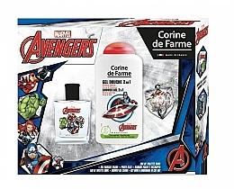 Fragrances, Perfumes, Cosmetics Marvel The Avengers - Set (edt/50ml + sh/gel/250ml)