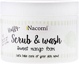 "Fragrances, Perfumes, Cosmetics Washing Peeling Foam ""Mango"" - Nacomi Scrub and Wash Sweet Mango Foam"
