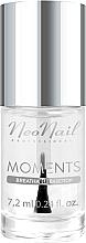 Fragrances, Perfumes, Cosmetics Nail Polish Base & Top Coat - NeoNail Professional Moments Base/Top 2in1