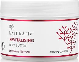 Fragrances, Perfumes, Cosmetics Body Regenerating Oil - Naturativ Revitalizing Body Butter