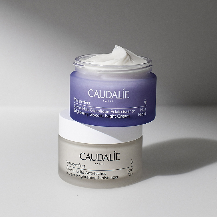 Anti-Dark Spot Night Cream with Glycolic Acid - Caudalie Vinoperfect Dark Spot Correcting Glycolic Night Cream — photo N5