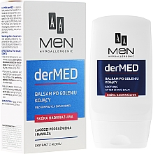 Fragrances, Perfumes, Cosmetics After Shave Balm for Extra Sensitive Skin - AA Cosmetics Men derMED After-Shave Balm