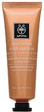 Fragrances, Perfumes, Cosmetics Apricot Face Scrub - Apivita Face Scrub With Apricot