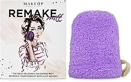 "Fragrances, Perfumes, Cosmetics Makeup Remover Glove, lilac ""ReMake"" - MakeUp"