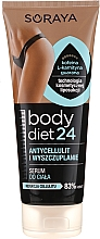 Fragrances, Perfumes, Cosmetics Anti-Cellulite Body Serum - Soraya Body Diet 24 Body Serum Anti-cellulite and Slimming