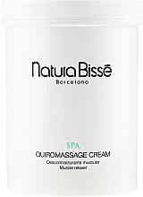 Fragrances, Perfumes, Cosmetics Massage Cream - Natura Bisse Spa Quiromassage Cream