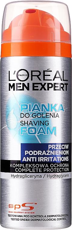 Anti-Irritation Shaving Foam - L'Oreal Paris Men Expert Rasier Schaum Anti-Hautirritation