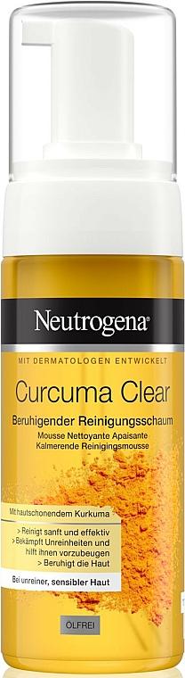 Curcuma Clear Mousse Cleanser - Neutrogena Curcuma Clear Mousse Clenser