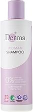 Fragrances, Perfumes, Cosmetics Shampoo - Derma Eco Woman Shampoo