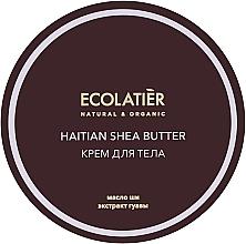 "Fragrances, Perfumes, Cosmetics Moisturizing Body Cream ""Haitian Shea Butter"" - Ecolatier Haitian Shea Butter Body Cream"