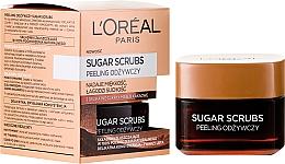 Fragrances, Perfumes, Cosmetics Nourishing Face Scrub - L'Oreal Paris Sugar Scrubs