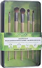 """Fragrances, Perfumes, Cosmetics Brush Set """"1627"""", 5 pcs - Ecotools Daily Defined Eye Kit (brush/5pc)"""