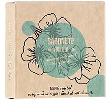 "Fragrances, Perfumes, Cosmetics Natural Soap ""Violet"" - Essencias De Portugal Senses Violet Soap With Olive Oil"
