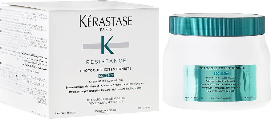 Repair Treatment for Damaged & Weak Hair - Kerastase Resistance Protocole Extentioniste Soin Nº2