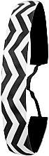 Fragrances, Perfumes, Cosmetics Headband, black-white - Ivybands Chevron Black White Hair Band