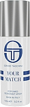 Fragrances, Perfumes, Cosmetics Sergio Tacchini Your Match - Perfumed Deodorant