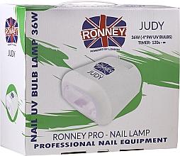 Fragrances, Perfumes, Cosmetics Nail Lamp UV, red - Ronney Profesional Judy UV 36W (GY-UV-230) Lamp