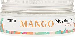 Fragrances, Perfumes, Cosmetics Body Mousse - Mohani Natural Mango Mousse