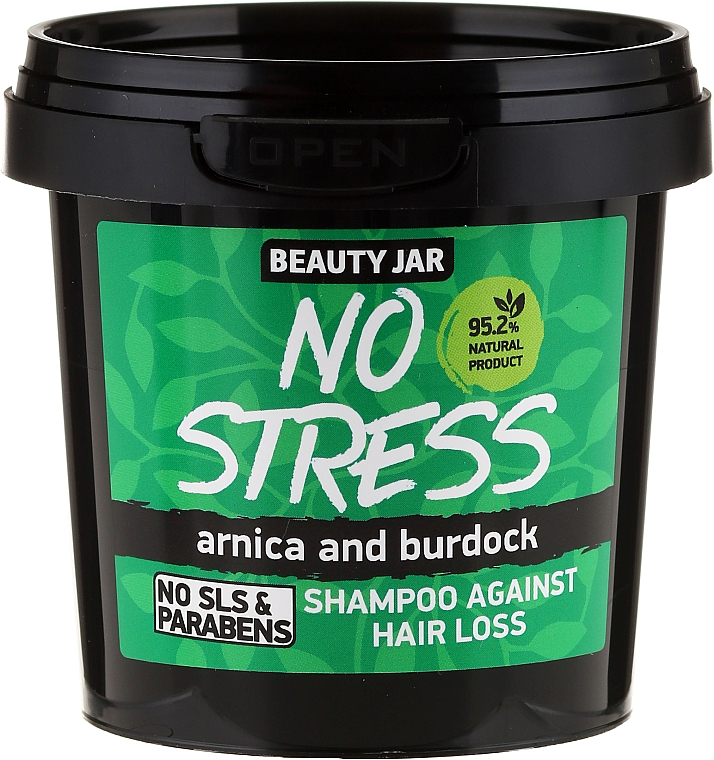 Anti Hair Loss Shampoo - Beauty Jar No Stress Shampoo Against Hair Loss