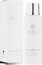 Fragrances, Perfumes, Cosmetics Face Toner - Herla Infinite White Nutritive Brightening Face Toner