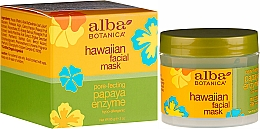 Fragrances, Perfumes, Cosmetics Enzyme Facial Mask - Alba Botanica Natural Hawaiian Facial Scrub Pore Purifying Pineapple Enzyme
