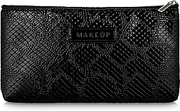 "Fragrances, Perfumes, Cosmetics Makeup Bag ""Black Snake"", black flat - Makeup"