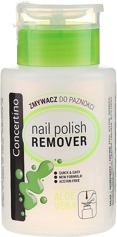 "Nail Polish Remover ""Aloe and Vitamins"", Acetone-Free - Concertino"