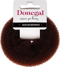 Fragrances, Perfumes, Cosmetics Hair Bun FA-5541, brown - Donegal Push-Up