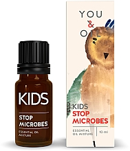 Fragrances, Perfumes, Cosmetics Kids Essential Oil Blend - You & Oil KI Kids-Stop Microbes Essential Oil Mixture For Kids
