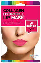 Fragrances, Perfumes, Cosmetics Collagen Hydrogel Lip Mask - Beauty Face 3D Push-Up Collagen Hydrogel Lip Mask