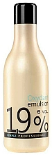 Fragrances, Perfumes, Cosmetics Creamy Oxydant Emulsion 1,9% - Stapiz Professional Oxydant Emulsion 6 Vol