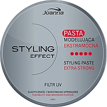 Fragrances, Perfumes, Cosmetics Modeling Hair Paste - Joanna Styling Effect Styling Paste Extra Strong