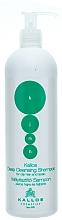 Fragrances, Perfumes, Cosmetics Cleansing Shampoo for Oily Hair & Scalp - Kallos Cosmetics Deep Cleansing Shampoo