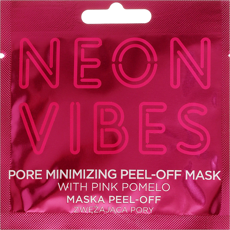 Face Mask - Marion Neon Vibes Pore Minimizing Peel-off Mask