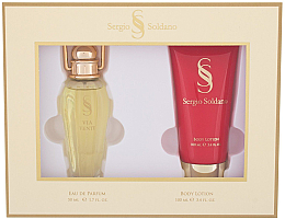 Fragrances, Perfumes, Cosmetics Sergio Soldano Via Venty - Set (edp/50ml + b/lot/100ml)