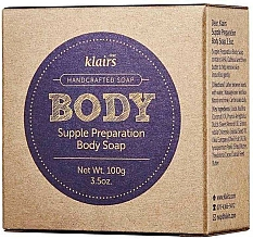 Fragrances, Perfumes, Cosmetics Face and Body Soap - Klairs Supple Preparation Body Soap