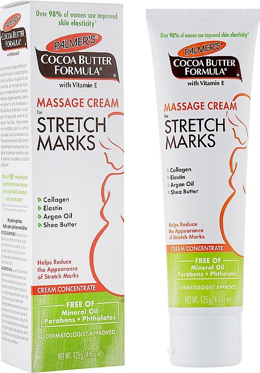 Massage Anti Stretch Marks Body Cream - Palmer's Cocoa Butter Formula Massage Cream for Stretch Marks
