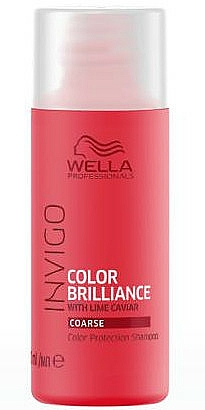 Color Protective Shampoo for Coarse Hair - Wella Professionals Invigo Color Brillance Shampoo