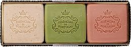 Fragrances, Perfumes, Cosmetics Set - Essencias De Portugal Aromas Collection Winter Set (soap/3x80g)