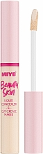 Fragrances, Perfumes, Cosmetics Liquid Face Concealer - Miyo Beauty Skin Liquid Concealer & Cut Crease Maker