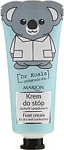 Fragrances, Perfumes, Cosmetics Foot Cream - Marion Dr Koala Foot Cream