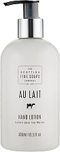 Fragrances, Perfumes, Cosmetics Hand Lotion - Scottish Fine Soaps Au Lait Hand Lotion