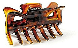 Fragrances, Perfumes, Cosmetics Hair Clip FA-5814, large, amber - Donegal