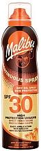 Fragrances, Perfumes, Cosmetics Sunscreen Body Dry Oil - Malibu Continuous Dry Oil Spray SPF 30