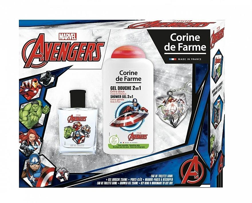 Marvel The Avengers - Set (edt/50ml + sh/gel/250ml)