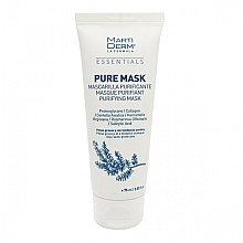 Fragrances, Perfumes, Cosmetics Mask for Oily and Acne Prone Skin - MartiDerm Essentials Pure-Mask